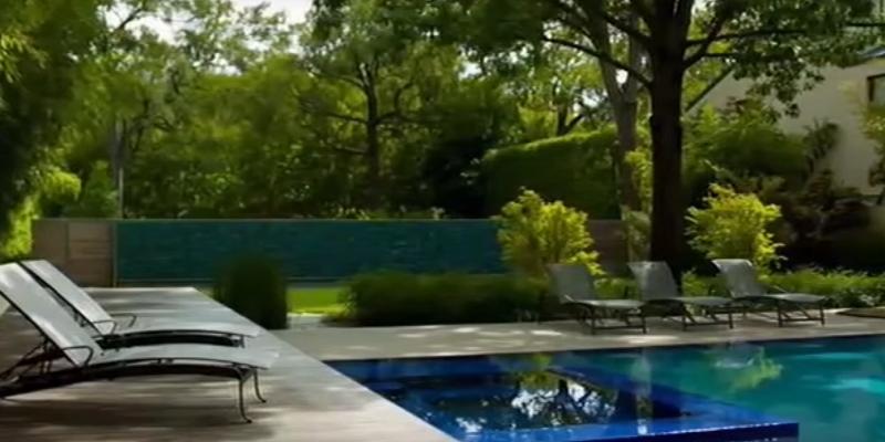 Jardin design moderne