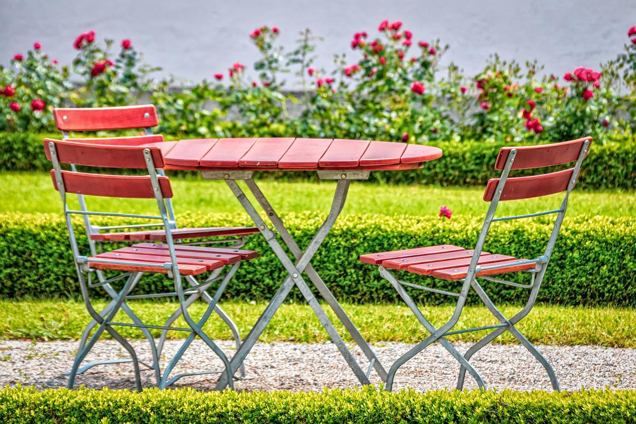 La taille idéale pour sa table de jardin